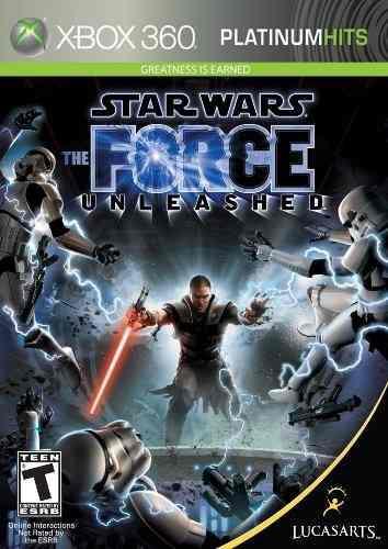 Juegos,star wars la fuerza desatada - xbox 360