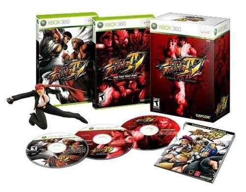 Juegos,street fighter iv edición coleccionista -xbox 360..