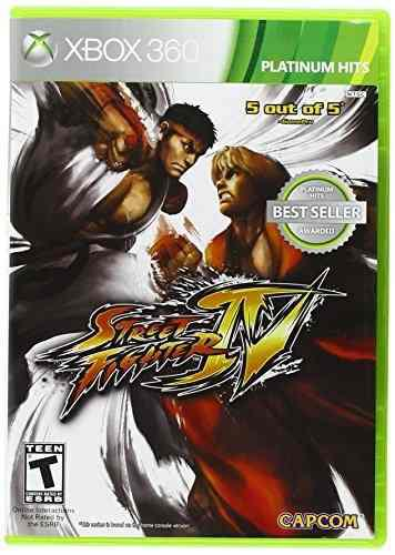 Juegos,street fighter iv - xbox 360
