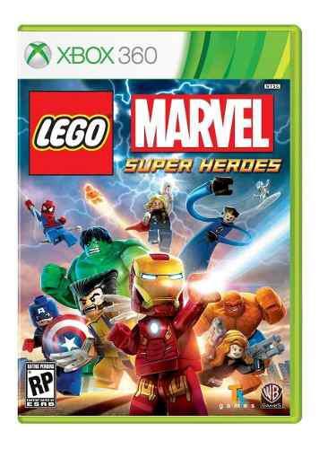 Lego marvel super heroes nuevo xbox 360 blakhelmet e