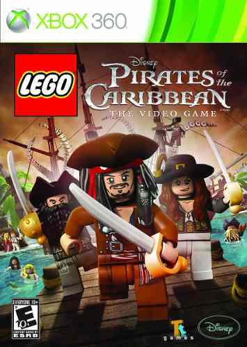 Lego piratas del caribe para xbox 360 usado blakhelmet e c
