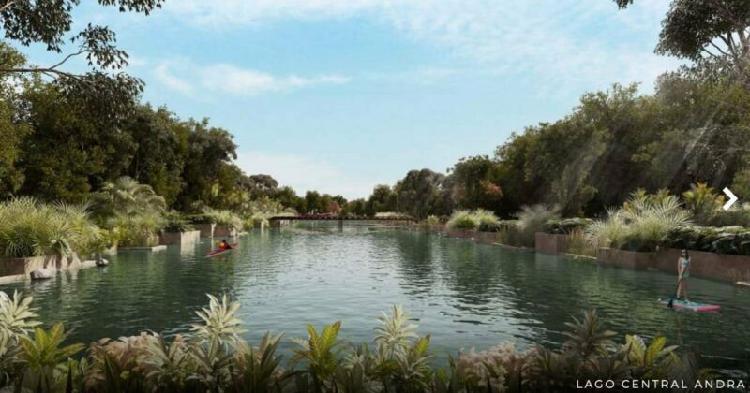 Lotes residenciales con un espectacular lago central, en