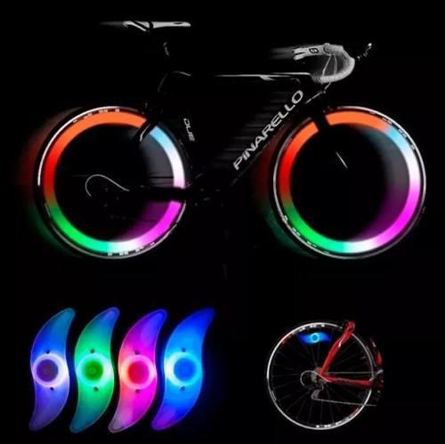 Luces para bicicleta led lampara bicicleta luz bicicleta!!