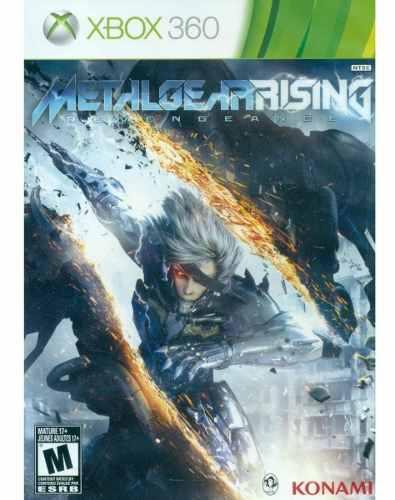 Metal gear rising revengeance xbox 360 nuevo sellado