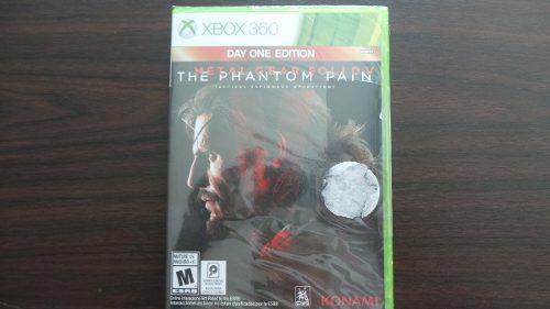 Metal gear solid v the phantom pain xbox 360 nuevo sellado