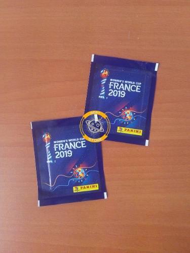 Mundial femenil francia 2019 - sobres de estampas