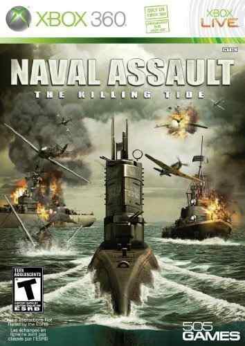 Naval assault: the killing tide - juegos de xbox 360 by 505