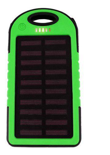 Power bank 5000mah bateria cargador solar para celulares /a