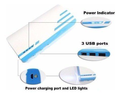 Power bank cargador portatil bateria 20000mah + envio gratis