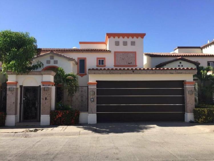 Renta casa amueblada privada andalucia $18,000 (sector
