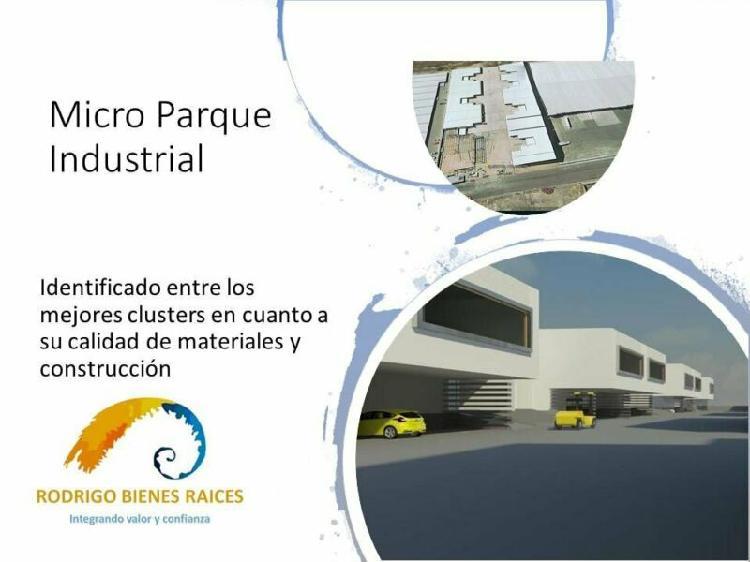 Renta nave industrial 741 m2 micro parque industrial en