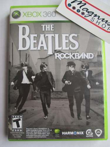 Rockband The Beatles Xbox 360 Completo Envio Gratis Dhl