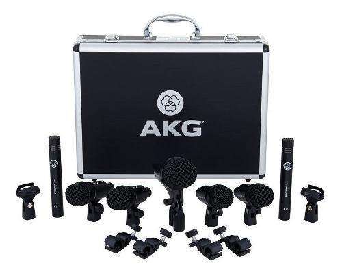 Set microfonos bateria akg drum set session 1 super