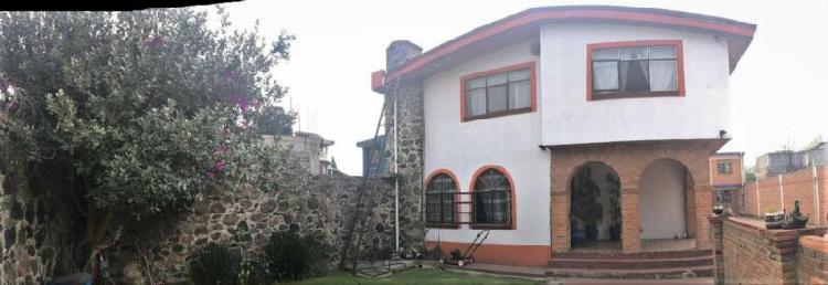 Vendo casa sola xochimilco san juan moyotepec