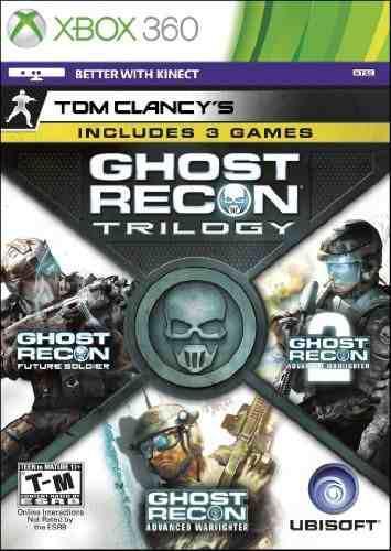 Videojuego: tom clancy's ghost recon trilogy edition para