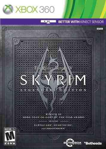 Xb360 - The Elder Scrolls V Skyrim Legendary Edition - Nuevo