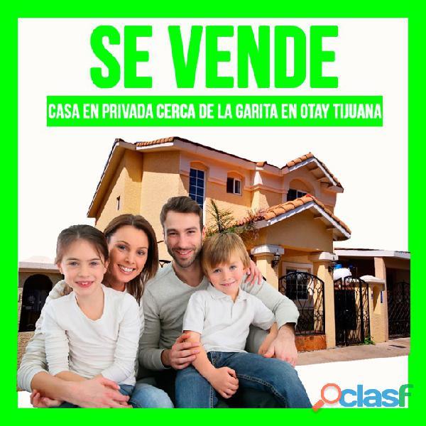 ✌la mejor casa en venta otay tijuana 3 recamaras⛔