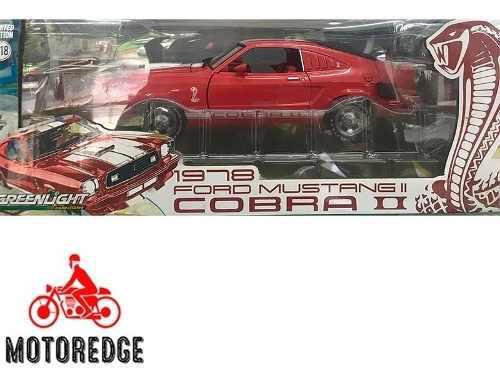 1978 ford mustang cobra ii greenlight 1/18 nuevo