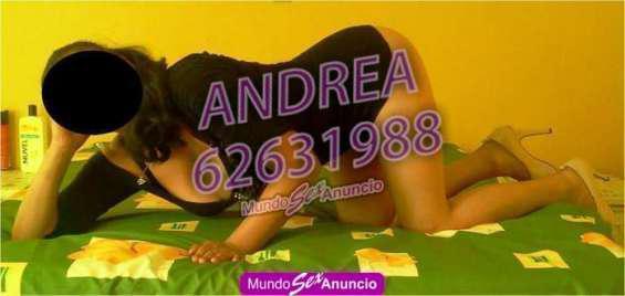 ANDREA SUPER CACHONDA !MARCAME¡