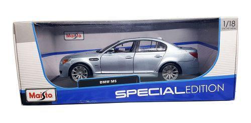 Autos escala bmw m5 1/18 maisto metal deportivos