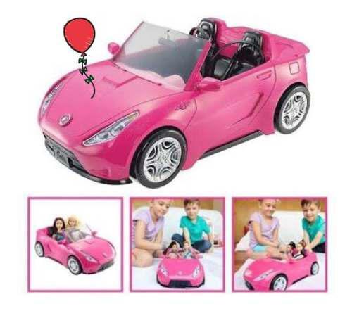 Barbie glam carro convertible