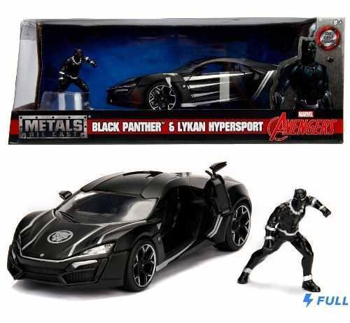 Black panther lykan hypersport jada 1:24 env gratis !