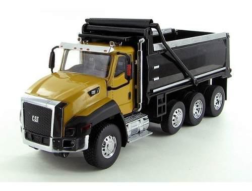 Camion de volteo caterpillar ct660 escala 1:50