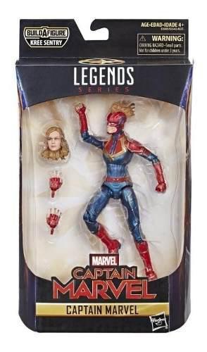 Figura acción captain marvel legends capitana marvel
