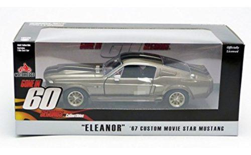 Ford mustang shelby gt500 eleanor 1967 greenlight 1/24 full