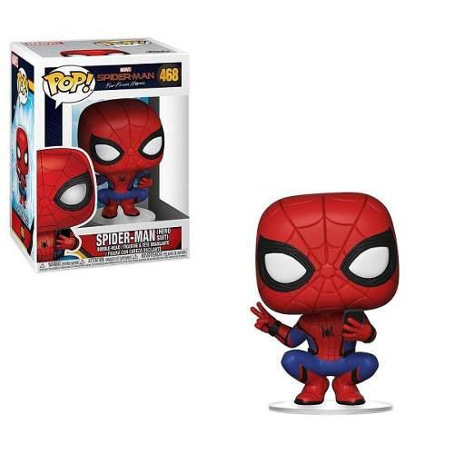 Funko pop marvel spiderman lejos de casa 468 hombre araña