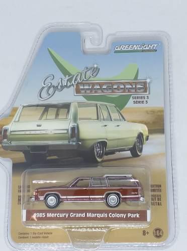Greenlight estate wagons 1985 mercury grand marquis 1:64