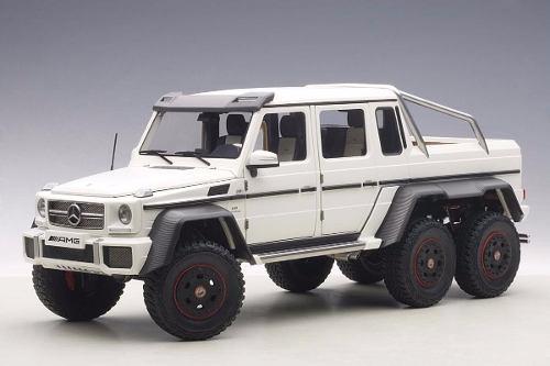 Mercedes benz g63 amg 6 x 6 2014 escala 1:18 autoart 76303