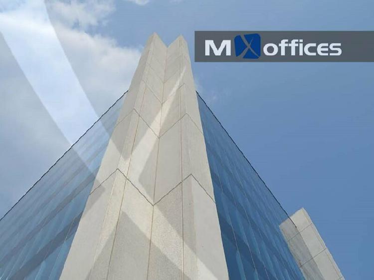 Oficina acondicionada en renta de 169m2 en nuevo sur