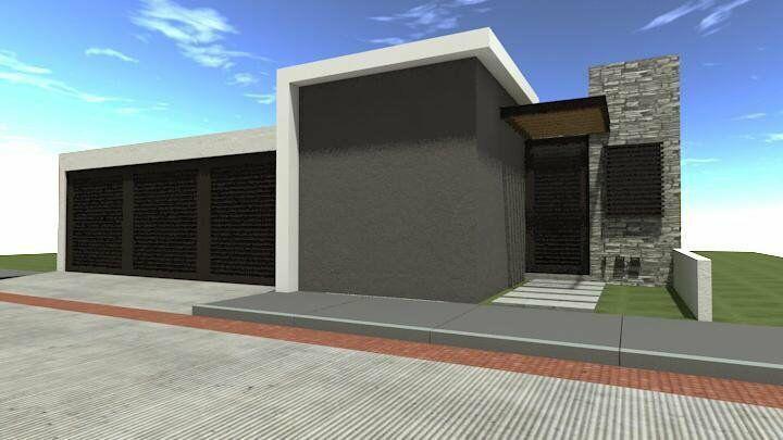 Proyecto de casa en venta, zona norte, en cañada del