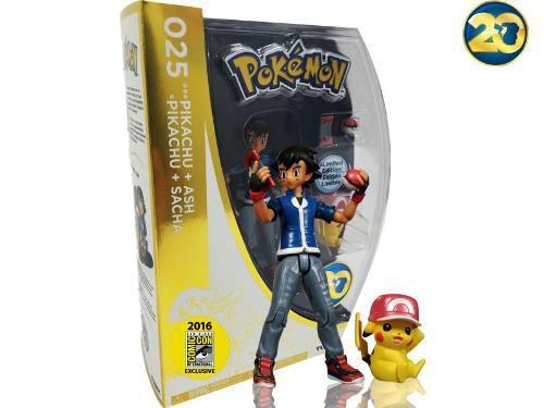 Pokemon go 20 años pikachu ash edicion comicon pokebola