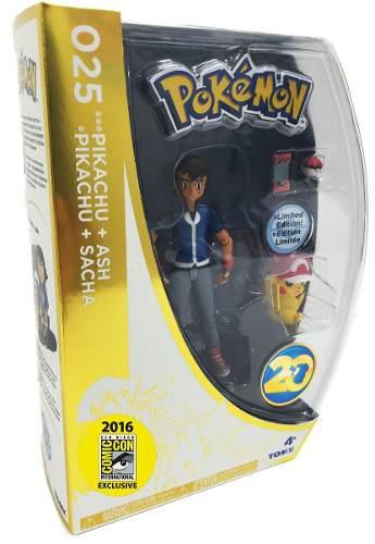 Pokemon go pikachu ash ed 20 años comicon 2016 pokebola