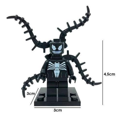 Spiderman marvel figura armable venom simbionte