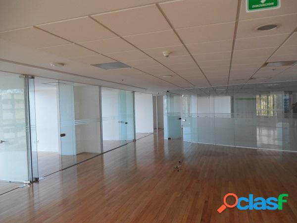 Céntrica oficina corporativa, polanco. 1,082 m2 (divisible)