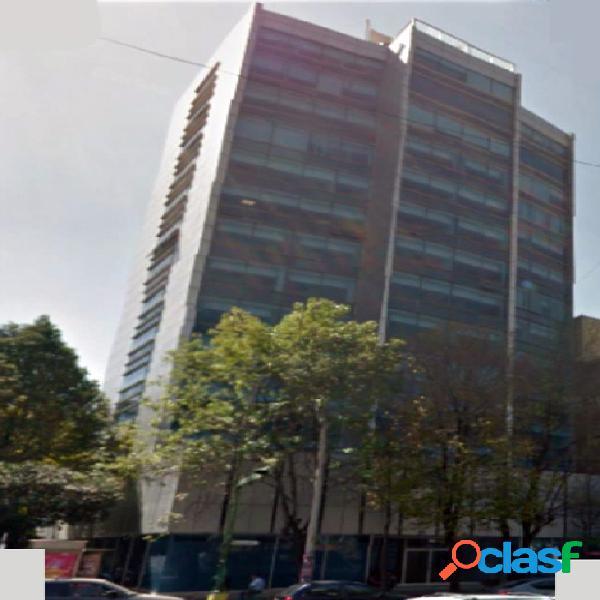 Céntrica oficina de 368 m2, col. roma