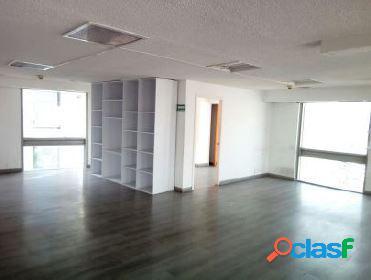 Céntrica oficina en anzures de 269 m2, piso 13