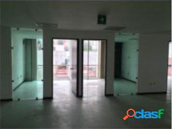Céntrica oficina en anzures de 538 m2, piso 4