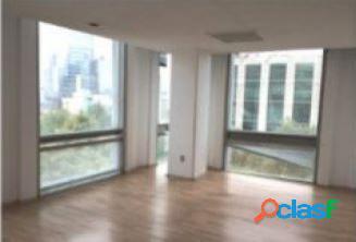 Céntrica oficina en anzures de 538 m2, piso 5