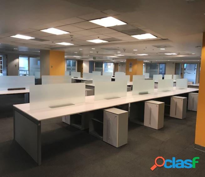 Céntrica oficina corporativa, polanco. 1,840 m2