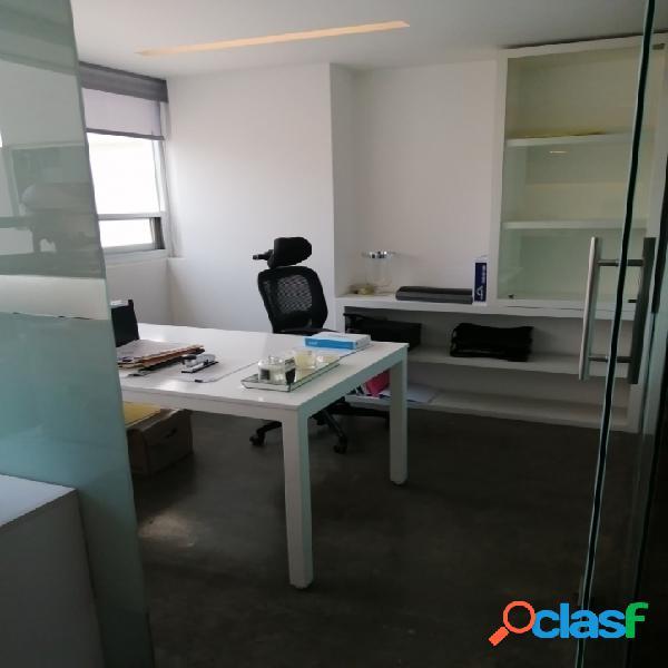 Moderna oficina de 122 m2 en polanco, piso 10