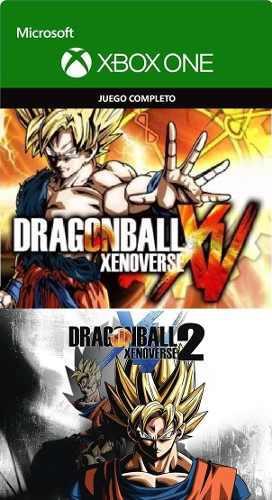 Dragon ball xenoverse 1 (base) y 2 (dlcs todos) !!! xbox one