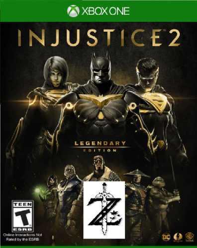 Injustice 2 legendary edition xbox one 2x1