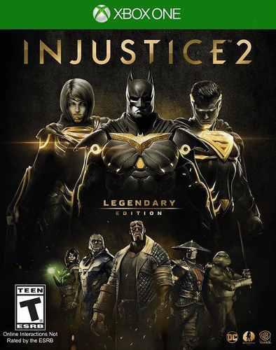 Injustice 2 xbox one legendary edition, online.
