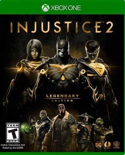 Injustice 2:edicion legendaria!!! xbox one
