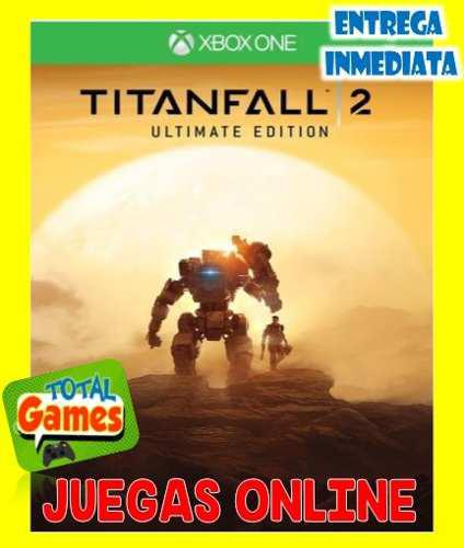 Titanfall 2 ultimate edition. xbox one juegas online