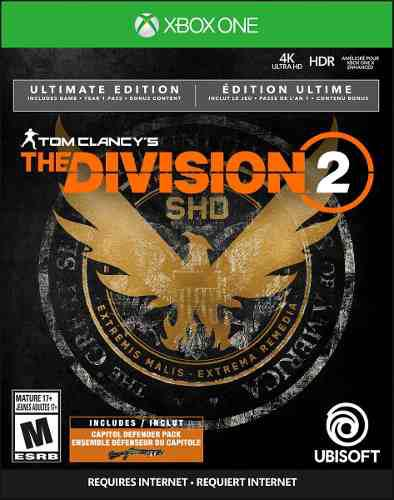 Tom clancy's the division 2 ultimate edition version on line
